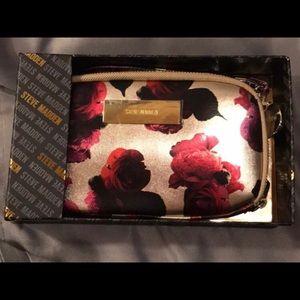 🆕Steve Madden Vintage Floral Gold & Red Wallet